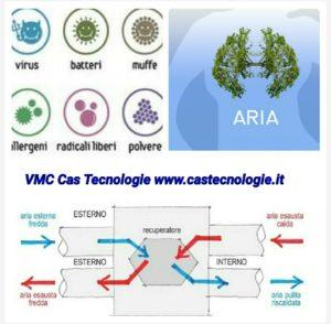 cas tecnologie vmc no virus no batteri no allergie no muffa